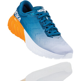 Hoka One One Mach 2 Running Shoes Herre corsair blue/bright marigold